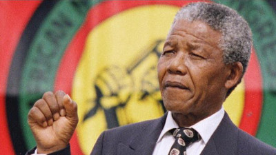 freed: Nelson Mandela