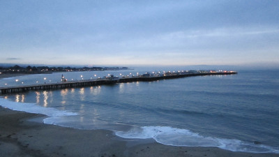 Santa Cruz at dawn